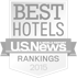 US News best hotels logo